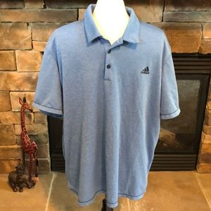 Adidas 2 XL golf shirt.